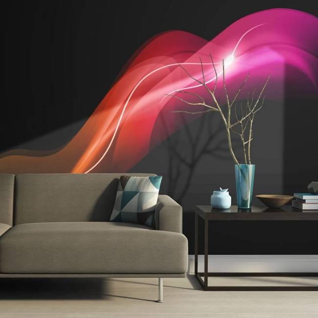 Fototapeta - Abstract colorful jellyfish