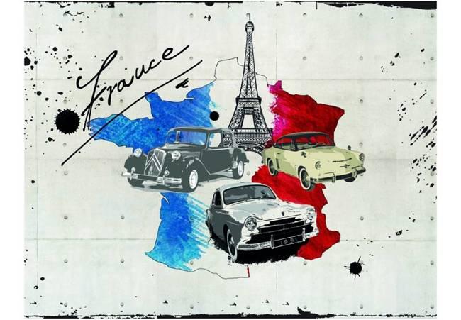 Fototapeta - Admirer of cars (France)