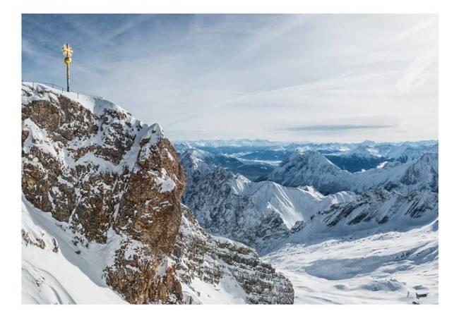Fototapeta - Alpy - Zugspitze