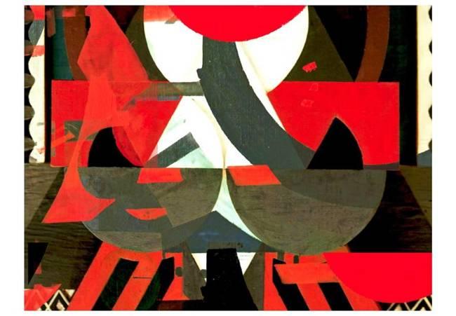 Fototapeta - Artystyczna kompozycja - czerwień