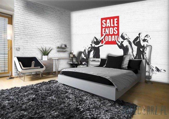 Fototapeta Banksy - Sale ends day 2729