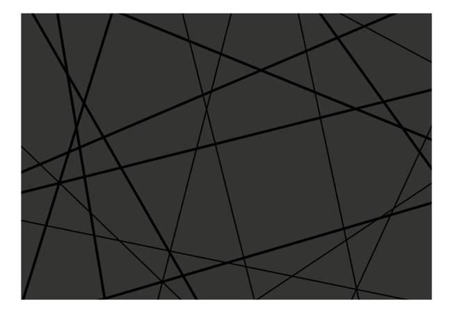 Fototapeta - Ciemne skrzyżowanie