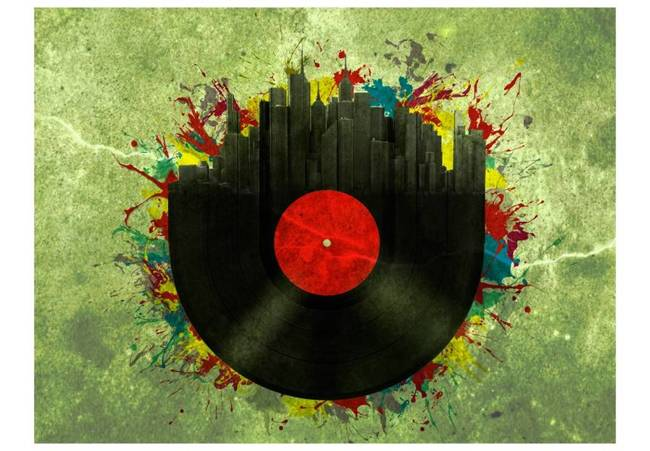 Fototapeta - Colorful melodies of the city