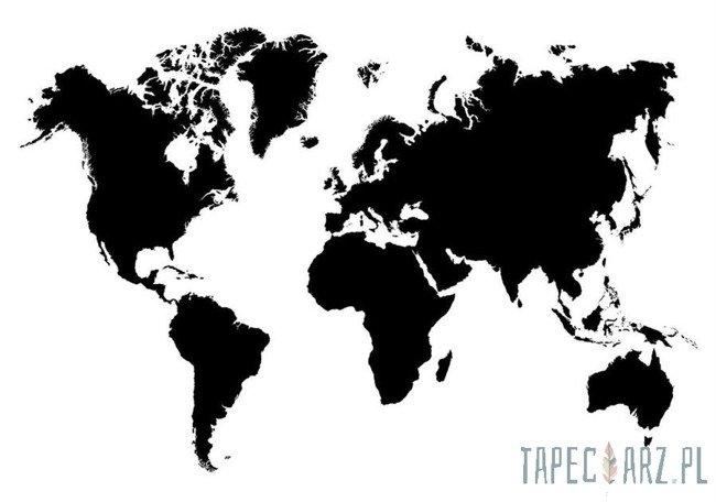 Fototapeta Czarno-biała mapa 10252