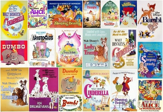 Fototapeta Disney Vintage Girls 70-590