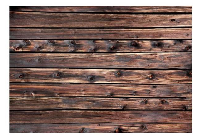 Fototapeta - Drewniane cieplo