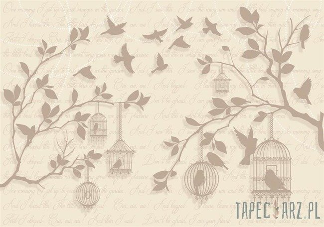 Fototapeta Drzewo i napisy 2777