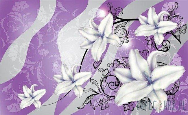 Fototapeta Fioletowe kwiaty 1237