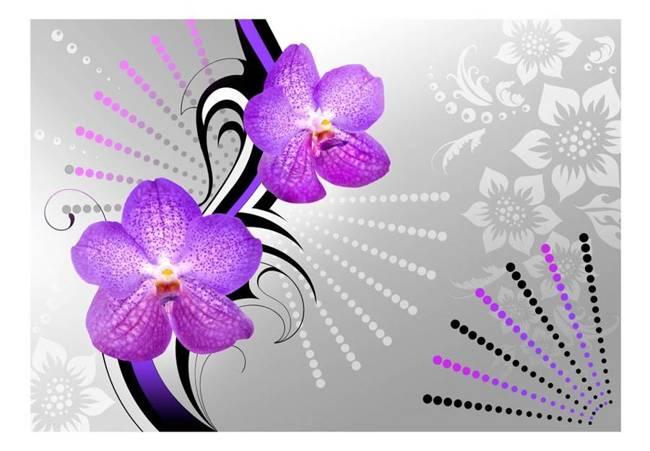 Fototapeta - Fioletowe wibracje