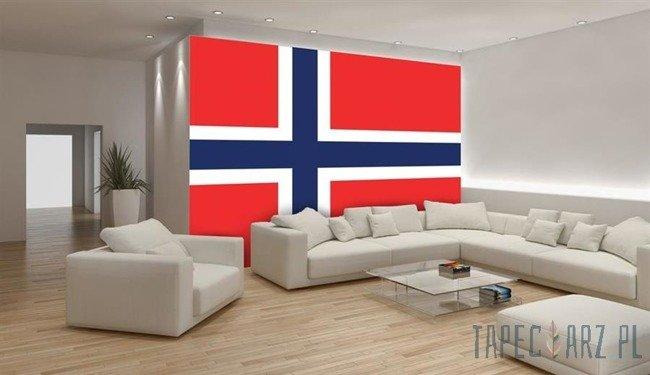 Fototapeta Flaga Norwegii 483