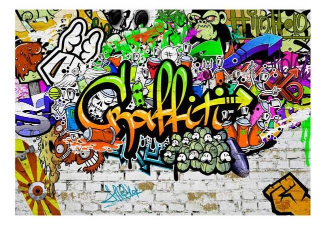 Fototapeta - Graffiti na ścianie