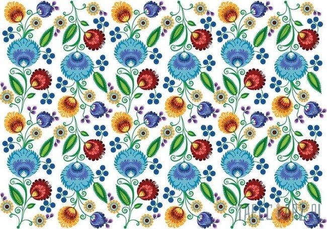 Fototapeta Kolorowe kwiaty 3731