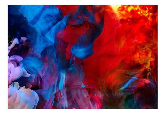 Fototapeta - Kolorowe płomienie