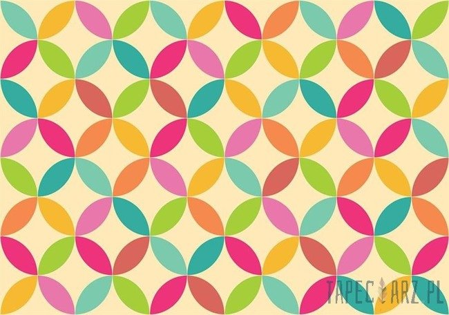 Fototapeta Kolorowy wzór 10693