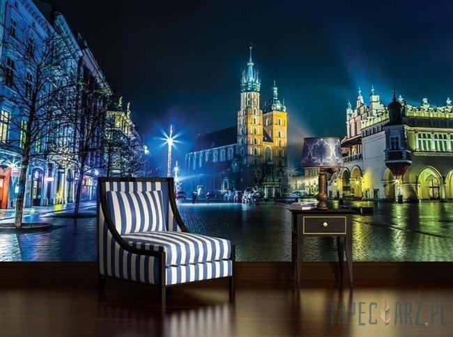 Fototapeta Kraków - rynek nocą 1314