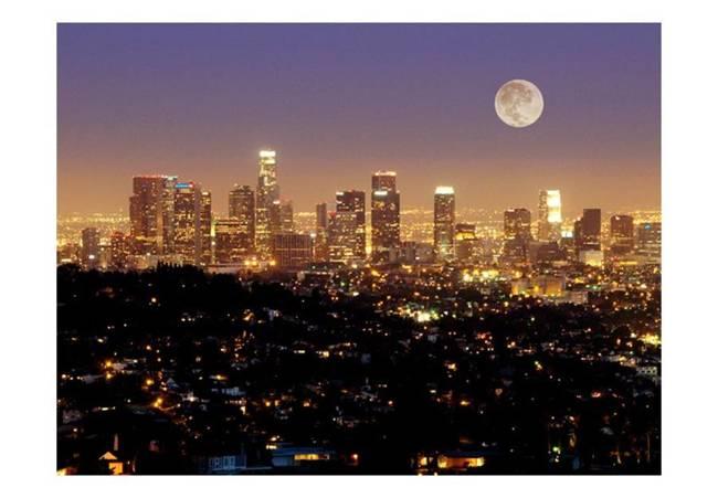 Fototapeta - Księżyc nad Miastem Aniołów