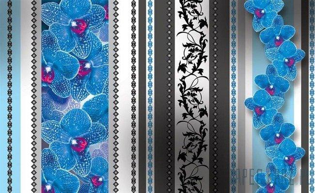 Fototapeta Kwiatowe ornamenty 1278