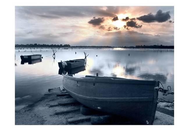 Fototapeta - Little port boats