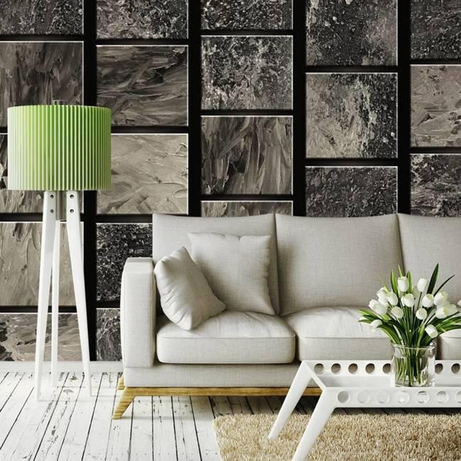 Fototapeta - Malowane kwadraty