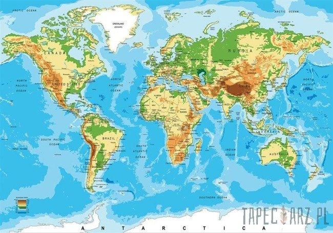 Fototapeta Mapa świata 10250