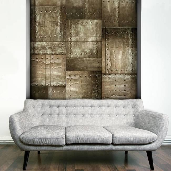 Fototapeta - Mosiężna mozaika