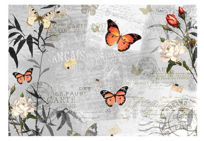 Fototapeta - Motyli śpiew