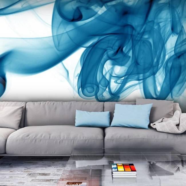 Fototapeta - Niebieski dym