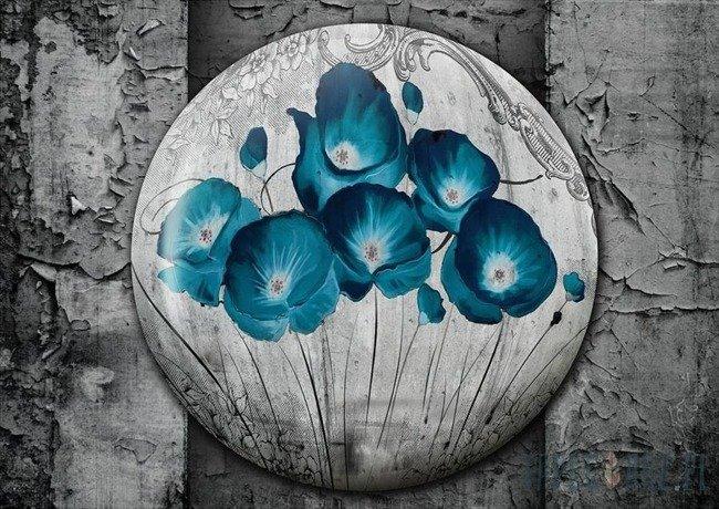 Fototapeta Niebieskie maki 2816