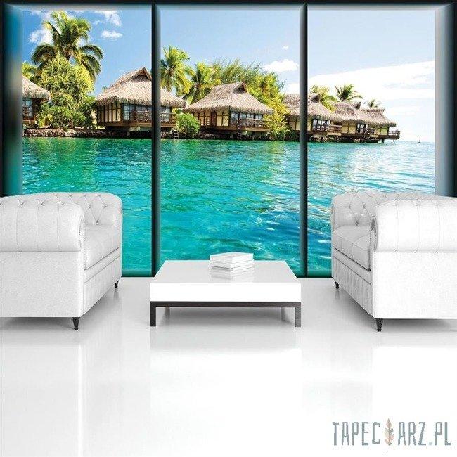 Fototapeta Okno z widokiem na Hawaje 497