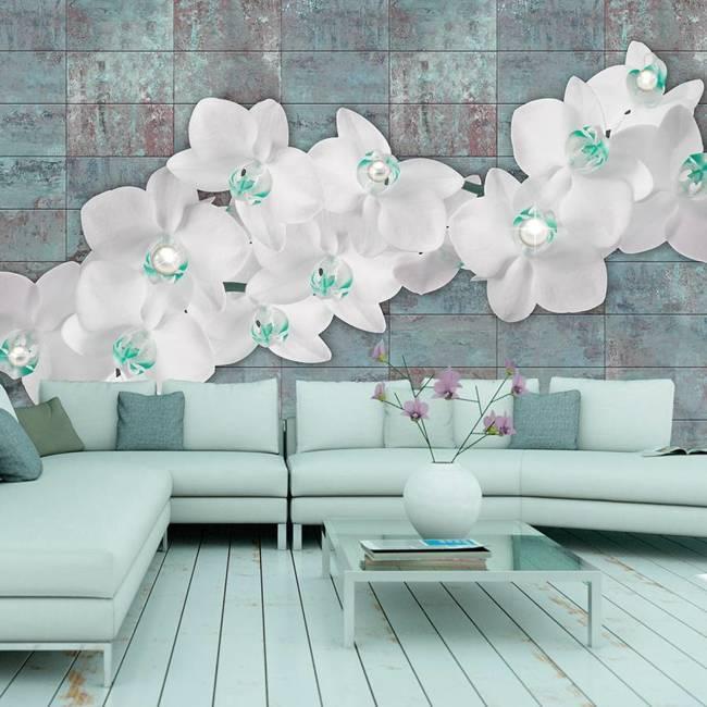 Fototapeta - Orchidee z perłami