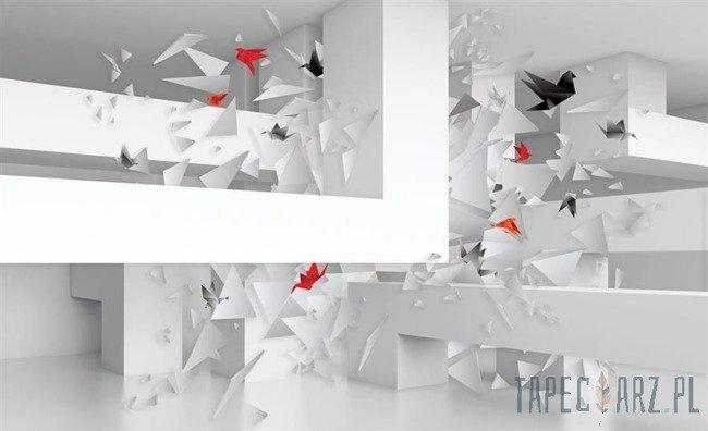 Fototapeta Origami - ptaki 2212