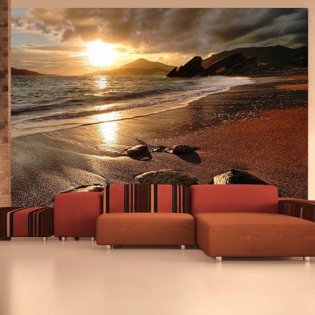 Fototapeta - Relaxation by the sea