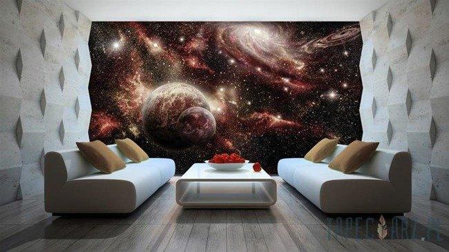 Fototapeta Rozświetlony kosmos 2733