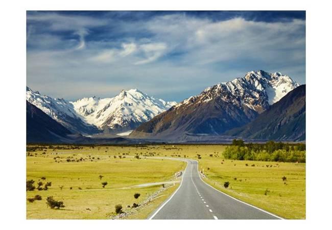 Fototapeta - Southern Alps, New Zealand