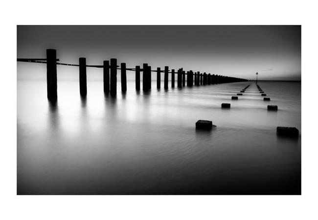 Fototapeta - Ujście Tamizy w Shoeburyness, Anglia