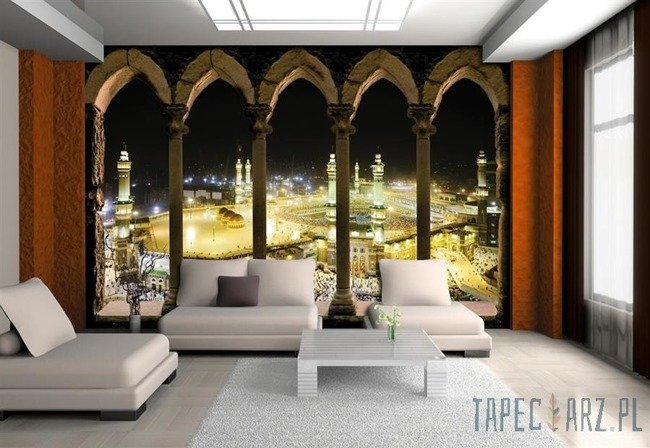 Fototapeta Widok na Kaaba (Mekka) 3334