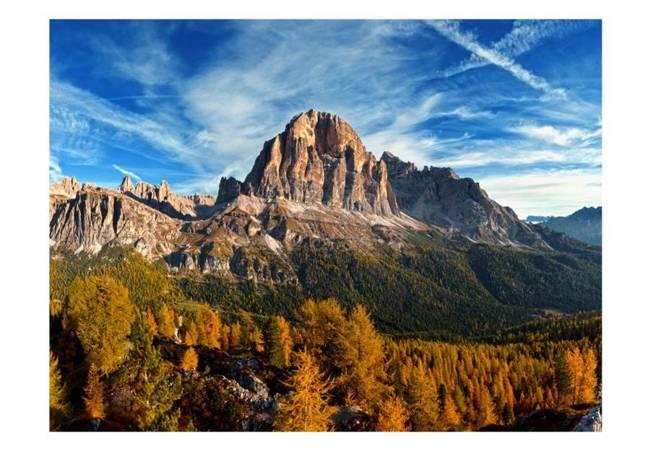 Fototapeta - Widok panoramiczny na włoskie Dolomity