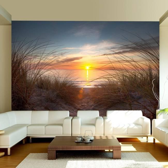 Fototapeta - Zachód słońca nad Oceanem Atlantyckim