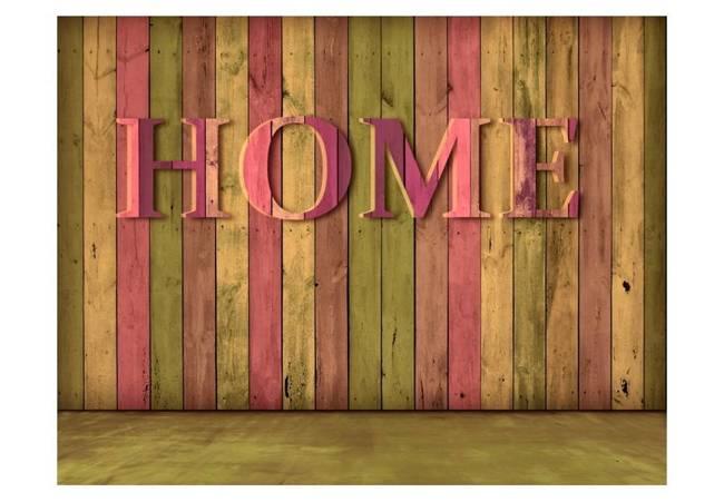 Fototapeta - dom (różowy)