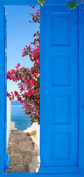 Fototapeta na drzwi - Drzwi do lata