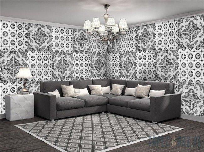 Fototapeta na flizelinie Czarno-biała Mozaika 10105VEE