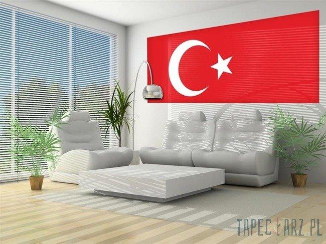 Fototapeta na flizelinie Flaga Turcji 482VEP
