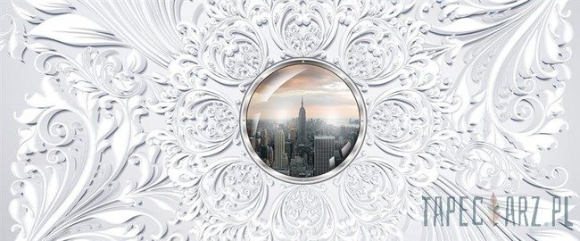 Fototapeta na flizelinie Okno na Nowy Jork 3120VEP