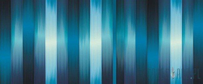 Fototapeta na flizelinie Pasy w odcieniach błękitu 1433VEP