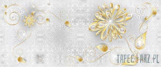 Fototapeta na flizelinie Złote kwiaty 883VEP