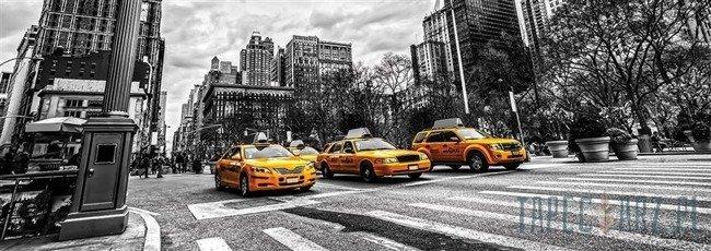 Fototapeta na flizelinie Żółte taksówki 1500VEE