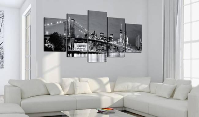 Obraz - Czarno-białe spojrzenie