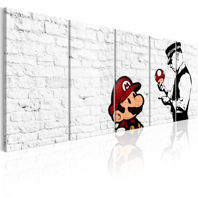 Obraz - Graffiti na cegle