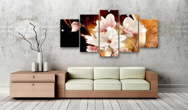 Obraz - Iluminacja (Magnolia)