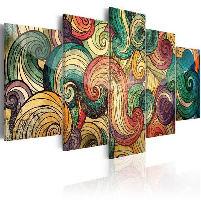Obraz - Kolorowe fale